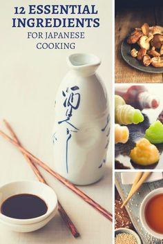 The 12 essential ingredients for Japanese cooking. Learn how to stock your pantry with everything you need to start cooking Japanese! japanese cooking | japanese ingredients | miso | sake | soy sauce | Japanese recipes | Japanese cooking basics | sesame oil | mirin | dashi stock | wasabi | Japanese pantry | home made japanese via @Went Here 8 This