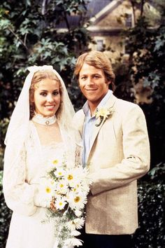 Their first wedding in 1981...will there be a second?