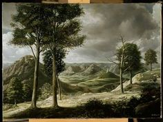 """Berglandschap (Mountainscape)"", 1938 / Carel Willink (1900-1983) / Private Collection"