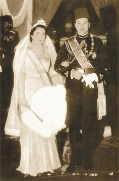 King Farouk wedding