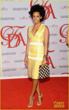 Solange CFDA Fashion Awards 2012