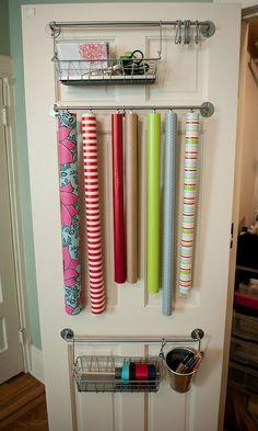 Förvaring av presentpapper | Förvaringsdrottningen