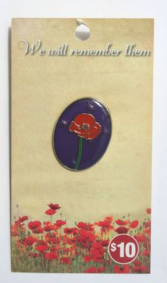 Remembrance Day, Lapel Pins, Ebay, Art, Art Background, Kunst, Anniversaries, Performing Arts, Badges