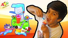 Kids Dough Ice Cream Station unboxing - How to make play doh ice cream