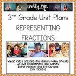 Representing Fractions 3rd Grade Math Lesson Plans 3.3A 3.3B 3.3C 3.3D 3.3E 3.7A Math Lesson Plans, Math Lessons, Fractions, Multiplication, Problem Solving Activities, Math Activities, 3rd Grade Math Worksheets, Math Classroom, Classroom Ideas
