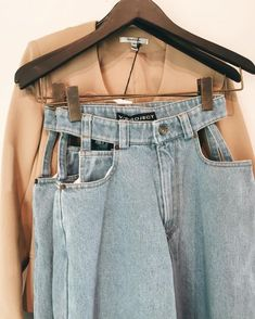 amazing cut out jeans