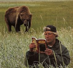 "2003: Timothy Treadwell, a North American environmentalist who had lived in the wild among bears for thirteen summers in a remote region of Alaska, was killed and partially consumed by a bear along with his girlfriend Amie Huguenard. The incident is described in the documentary ""Grizzly Man"" by Werner Herzog."