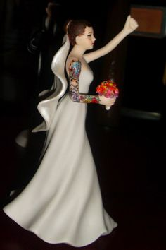 Make a traditional cake topper truly your own | Offbeat Bride