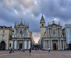 Piazza San Carlo #Torino #turin #piemonte #lamiatorino Photocredit Flickr Francesco Urso @ chicco_u