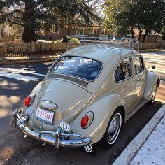 Lane Russell Vintage VW — Our good friend and customer, Tim Mossman's Car Volkswagen, Vw Camper, Vw Super Beetle, Vw Parts, Retro Cars, Vintage Cars, Vw Beetles, Dream Cars, Street Rods