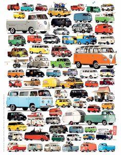 Risultati immagini per volkswagen bus evolution Volkswagen Bus, Volkswagen Transporter, Vw Caravan, Bus Camper, Campers, Vw Minibus, Combi Ww, Carros Vw, Vw Modelle