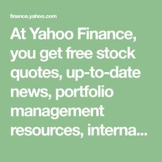 Yahoo Stock Quote Unique Yahoo Native Advertising  Get A Free Quote Today  Yahoo