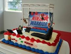 American Ninja Warrior My Cakes Pinterest Ninja
