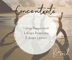 Essential Oils for Concentration.