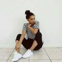 dba4c9f337 18 Best Adidas Stan smith outfits images in 2017 | Woman fashion ...