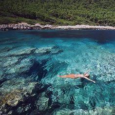 You belong somewhere you feel free.. #Mljet #Croatia #DubrovnikRiviera…