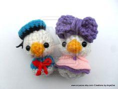 Donald and Daisy Duck Dolls by AnyaZoe on deviantART