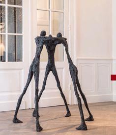 Modern Art Sculpture, Abstract Sculpture, Abstract Art, Alberto Giacometti, Rose House, Vides, Sculpture Projects, Art En Ligne, Green Man