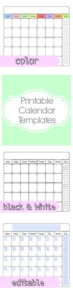 editable word calendar 2018