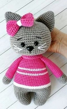 Amazing and very Cute Crochet Amigurumi Pattern Ideas for 2019 Part amigurumi pattern free; amigurumi pattern anime süß Amazing and very Cute Crochet Amigurumi Ideas for 2019 - Page 18 of 32 - Free Amigurumi Pattern, Crochet Animal Amigurumi, Crochet Amigurumi Free Patterns, Crochet Animal Patterns, Stuffed Animal Patterns, Amigurumi Doll, Crochet Toys, Knitting Toys, Knitting Patterns, Easy Knitting