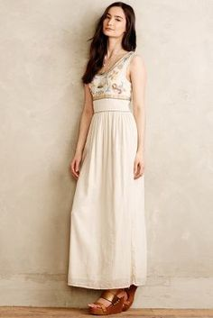 Christophe Sauvat Hanalei Maxi Dress. Love the top, way too long for me though!
