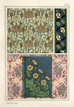 Eugene Grasset Pochoir Prints 1896