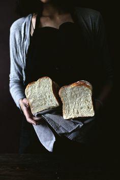 Soft, squishy, chewy sticky rice bread.
