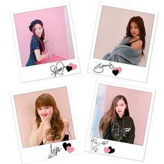 'BLACKPINK - signature polaroids' Poster by snowf-snowj Kpop Girl Groups, Korean Girl Groups, Black Pink Background, K Pop, Blackpink Poster, Blackpink Funny, Black Pink Kpop, Blackpink Memes, Blackpink Photos