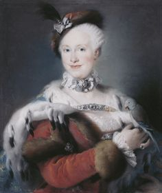 Lorenzo Tiepolo, Portrait of the Infanta Maria Louisa