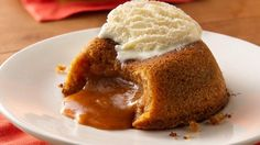 Try the buttered rum cousin to the favorite mini dessert with the delicious surprise molten center.