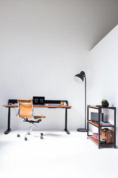 Minimalistische Holzmöbel Fürs Büro Von Harkavy Furniture Im Büro  Verbringen Die Meisten Von Uns Einen Großen