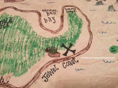 DIY Pirate Treasure Map