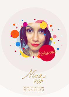 Con ocasión de su 10º aniversario, Nina te invita a su Pop Party. Crea tu foto pop y participa en el sorteo de increíbles regalos.