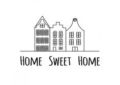 Handlettering ~ home sweet home Journal Quotes, Life Quotes, Movie Quotes, Quotes Quotes, Round Robin, Hand Lettering Quotes, Ideias Diy, Doodle Drawings, Lyric Drawings
