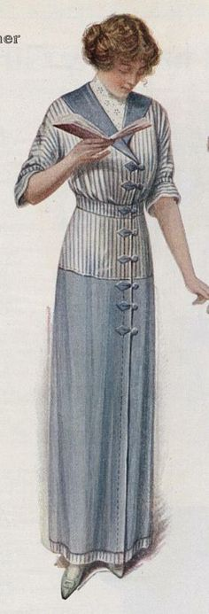 1912 dress Ladies Home Journal (June, 1912)
