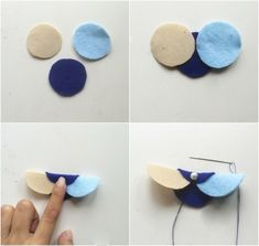 diy craft jewelry Fashion ideas about Women's fashion . Circle Garland, Felt Garland, Felt Bookmark, Flat Nose, Diy Crafts Jewelry, Pretty Necklaces, 3 Things, Pearl Beads, Hair Bows