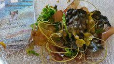 Seaweeds in a strainer & Guide to Edible Seaweeds by Prannie Rhatigan
