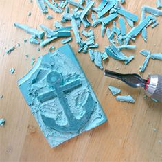 Making your own stamp is easy! See what you need & Great tips