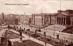 Postcards of the Past - Vintage Postcards of Liverpool, Merseyside. Liverpool City Centre, Liverpool Docks, Liverpool History, Liverpool Home, St Georges Hall, St Nicholas Church, British History, Great View, Vintage Postcards