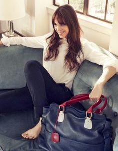 Charlotte Gainsbourg egerie du nouveau sac Tommy Hilfiger