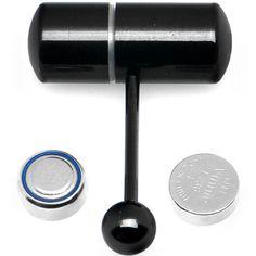 Black Titanium LIX Vibrator Tongue Ring  $19.99 the only reason i'd get a tongue piercing