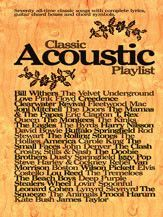 Classic Acoustic Playlist (Book)
