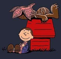 Stranger Thongs as Charlie Brown/Peanuts