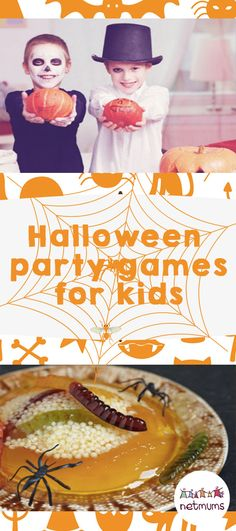 14 ultra-spooky Halloween games for kids Pinterest Halloween - halloween party ideas for kids