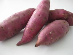 Japanese Yams, sweeter than white potato less sweet than sweet potato