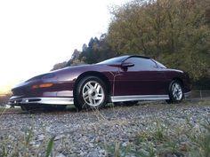 Purple camaro 1996