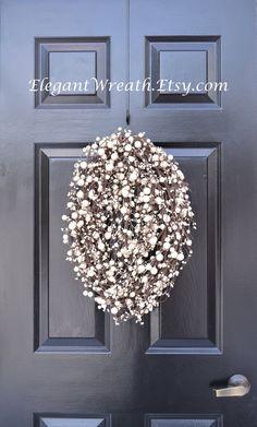 The Egg Easter Egg Wreath Easter Decor Easter by ElegantWreath