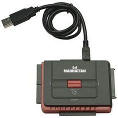 Manhattan Usb 2.0 To Sata And Ide Adapter (pack of 1 Ea)