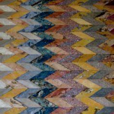 Tiled floor section in St Marks