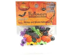 Disney Mickey and Minnie Halloween Novelty Buttons Jesse James Dress It Up  #Unbranded